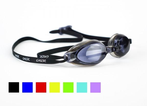 Schwimmbrillen für Erwachsene, getönte Gläser