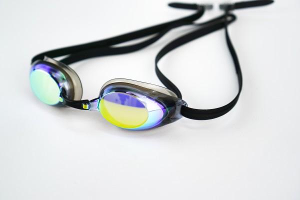 verspiegelte Sportbrille ohne Sehstärke